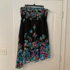 Floral flirty dress